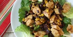 Barbecue Chicken Salad #WeekdaySupper  #McSkilletSauce