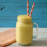 Mango Peach Protein Smoothie