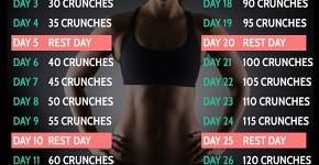 30 Day Crucnh Challenge
