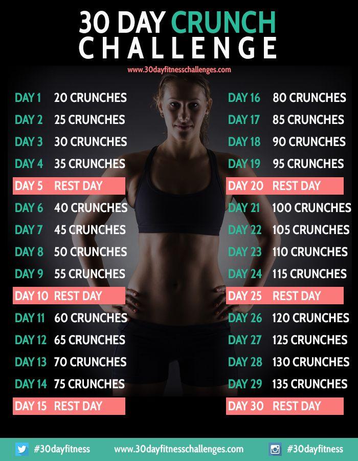 30 Day Crunch Challenge
