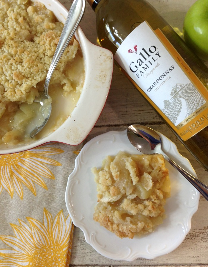 Mom's Apple Crisp #SundaySupper