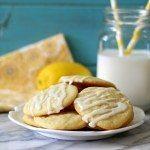 Lemon Sugar Cookies with Lemon Glaze