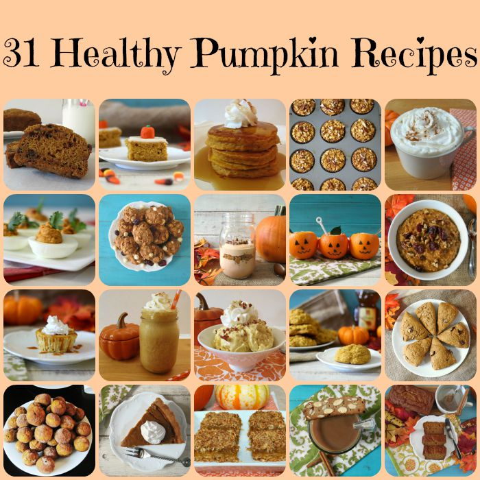 31 Healthy Pumpkin Recipes