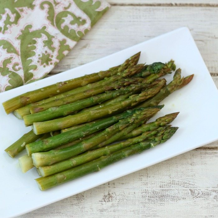 Steamed Orange Asparagus