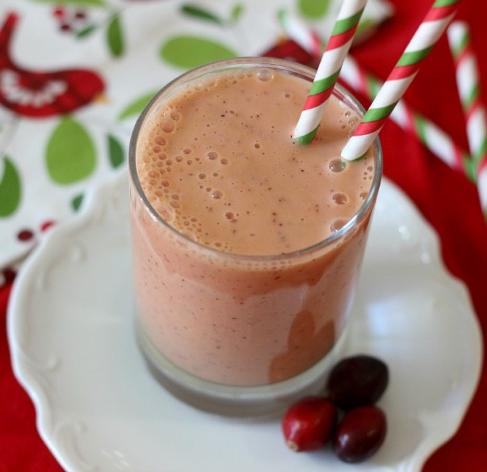 Cranberry Mango Smoothie