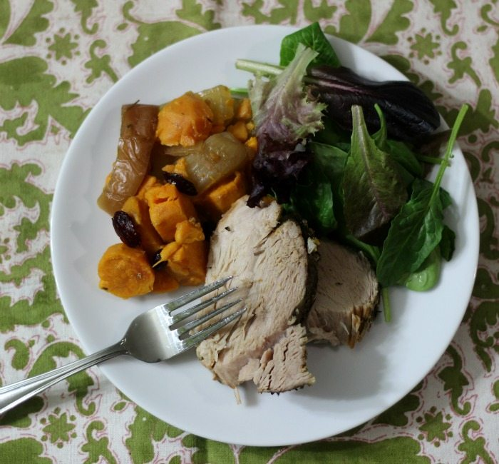 Pork with Sweet Potatoes & Apples (Crockpot)
