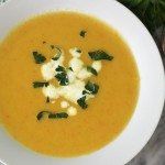 Potato and Carrot Leek Soup #SundaySupper