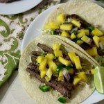 Sweet & Spicy Beef Tacos #SundaySupper