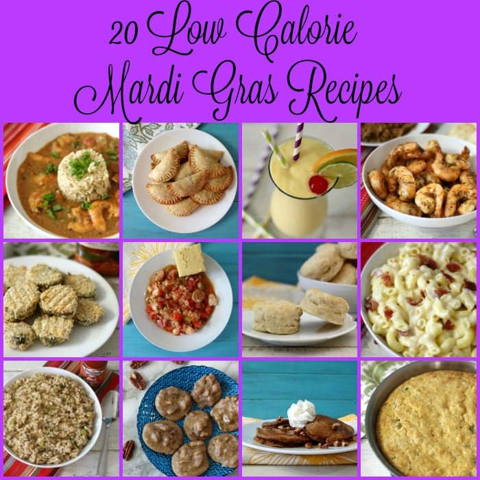 20 Low Calorie Mardi Gras Recipes