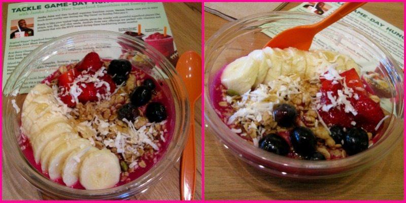 Jamba Juice Island Pitaya Energy Bowl c