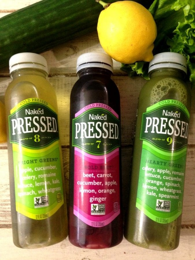 Living Healthy with Naked Juice Cold Pressed Juices - PB