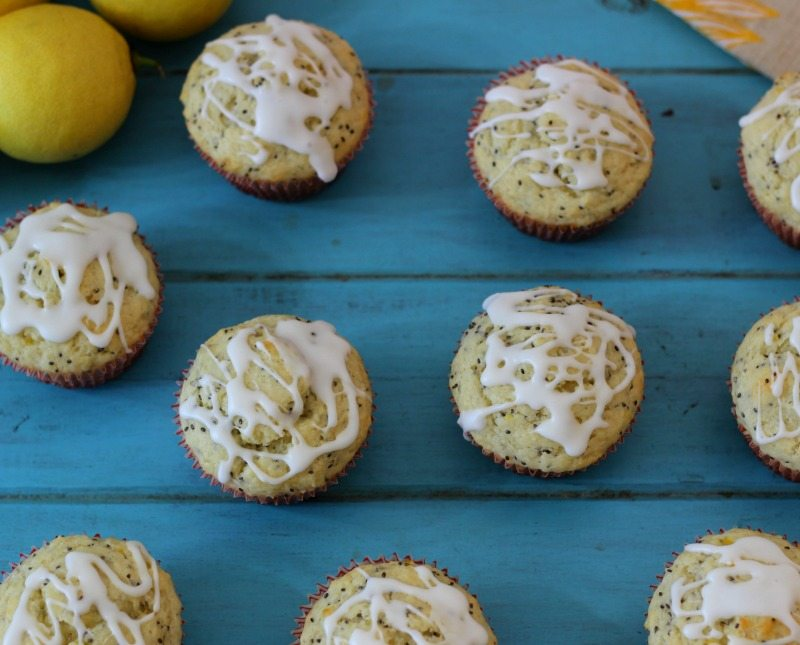 Meyer Lemon Chia Muffins