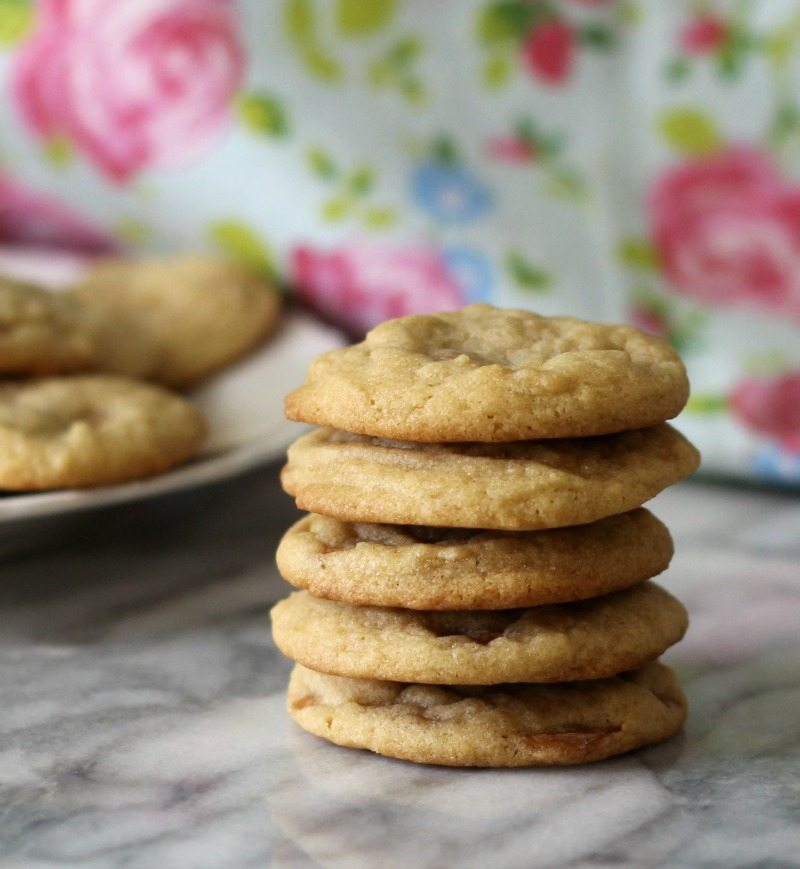 Chewy Caramel Cookies