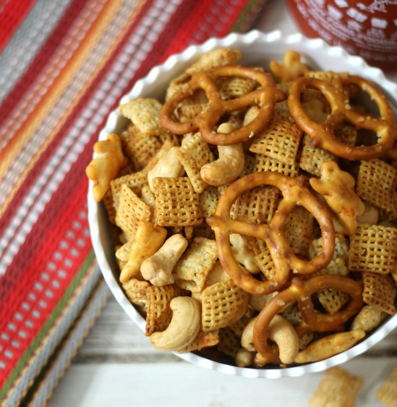 Sriracha Chex Mix – I made this recipe so many times. It is ...