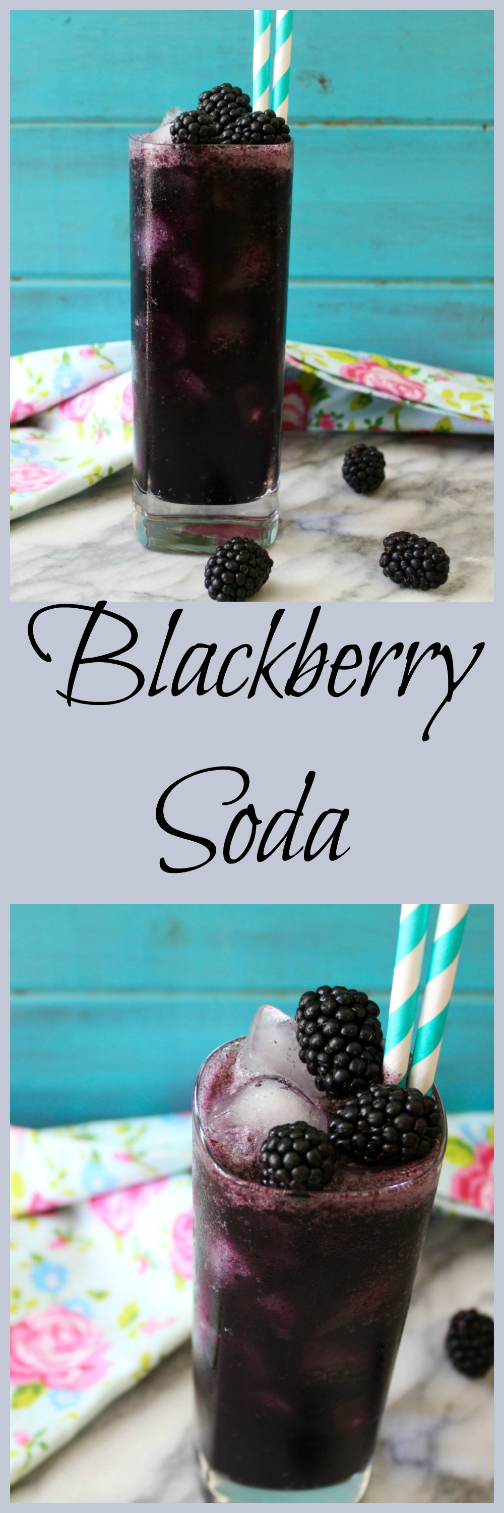Blackberry Soda