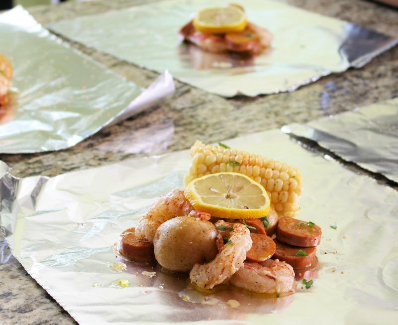 Grilled Shrimp Boil