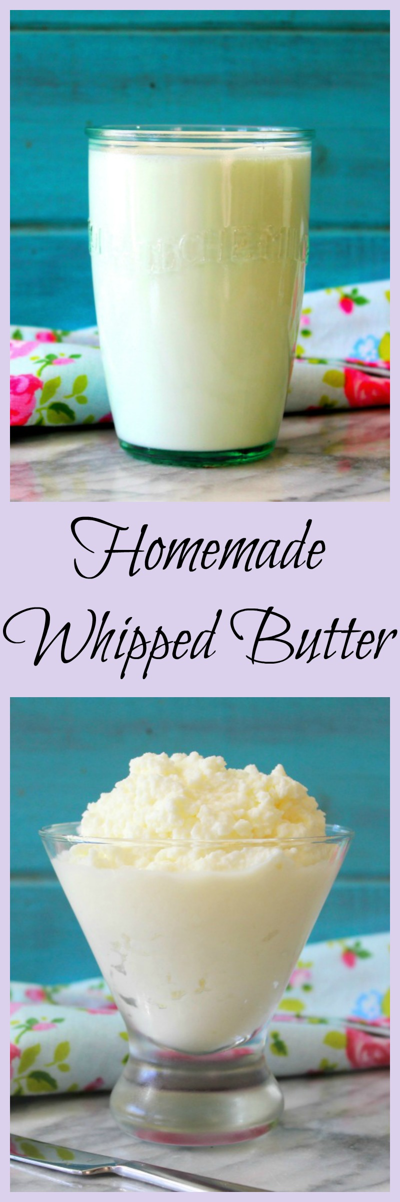 Homemade Whipped Butter
