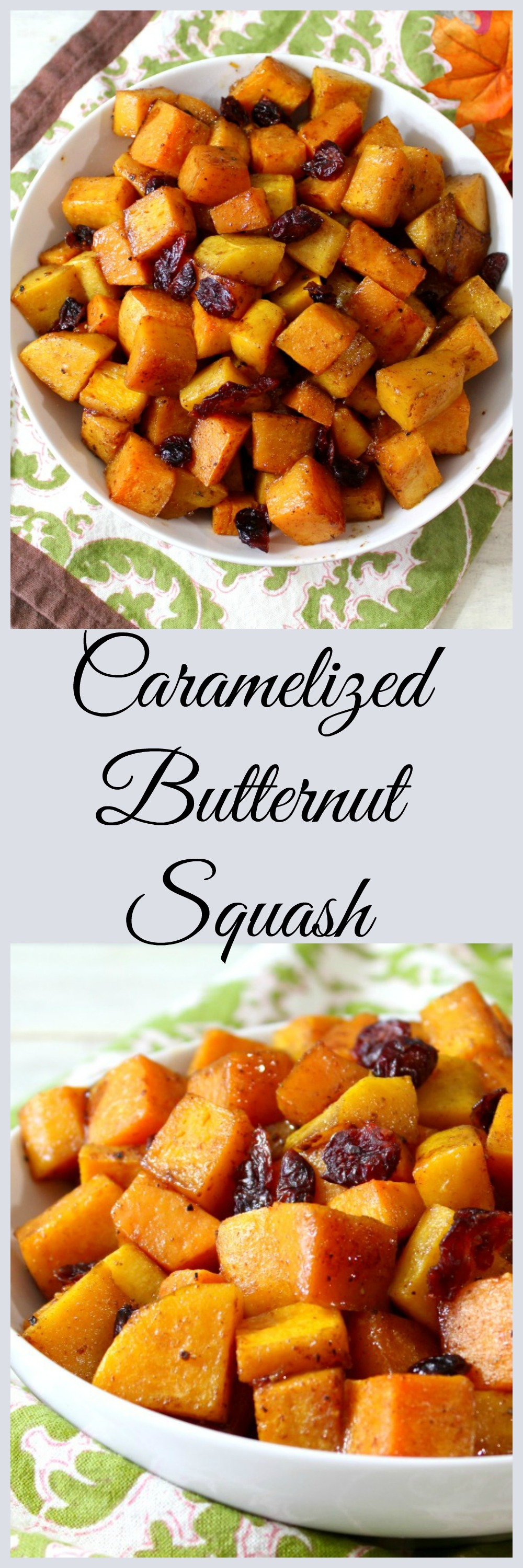 cCaramelized Butternut Squash
