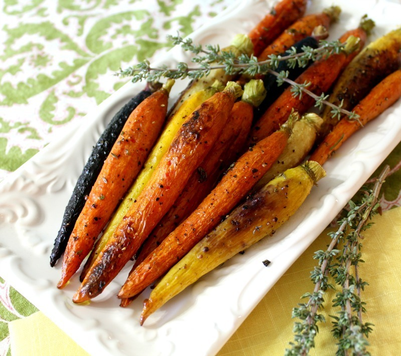 Caramelized Herb Roasted Carrots
