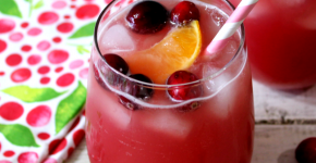 Cranberry Kiss Mocktail