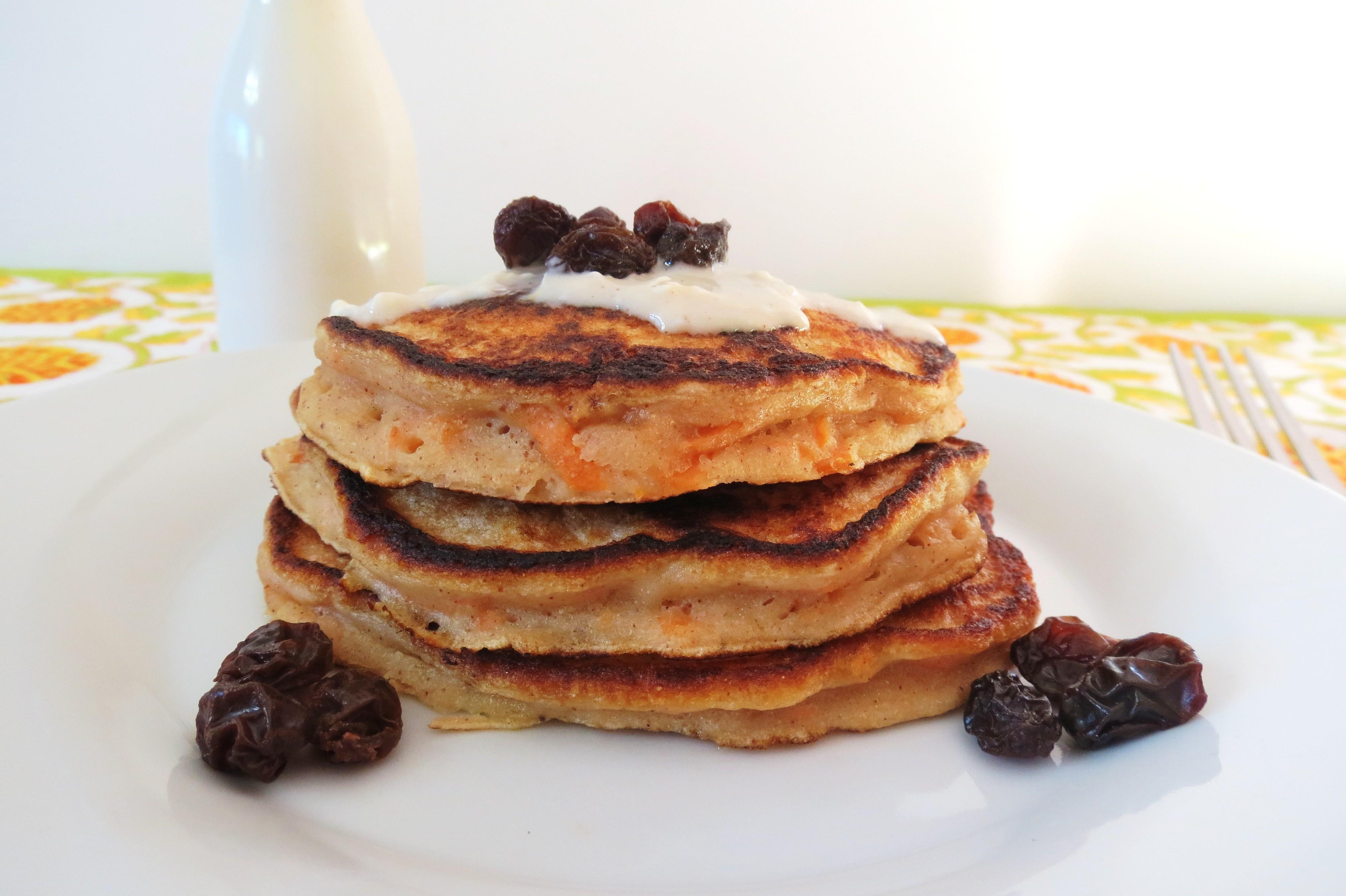 Moist Christmas Cake Recipe Jamie Oliver: Carrot Cake Pancakes