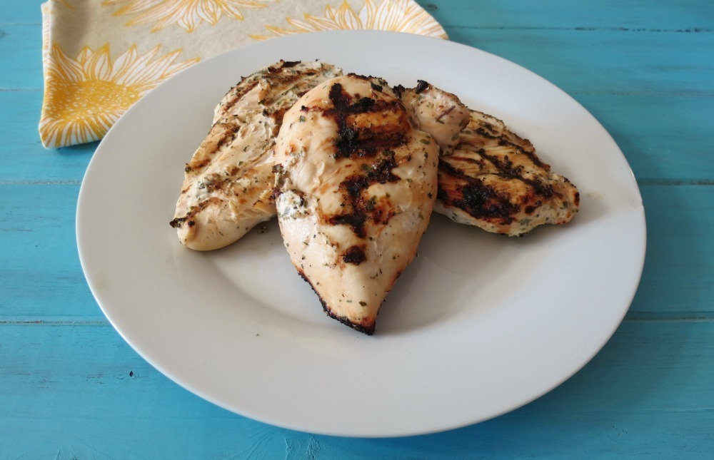 Yogurt-Marinated Grilled Chicken Recipe — Dishmaps